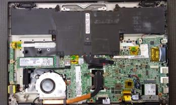 NEC PC-HZ550AAB のM2 SSD を換装するには