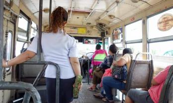 バンコクのバスを乗り回すには? Bangkok bus riding