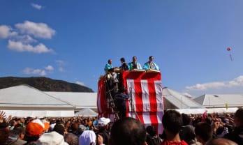 九重ふるさと祭りがあった。