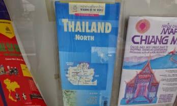 タイのバイクツーリング用地図選び