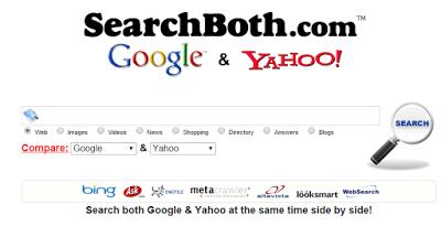 Google と Bing Yahoo を一括検索する