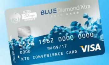 Krung Thai Bank のデビットカードは999バーツ/年