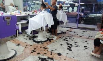 タイで散髪すると刈り上げになる