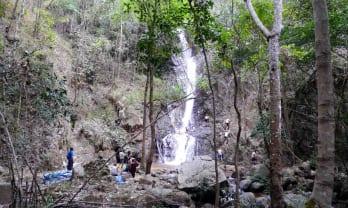 Mae Yen Waterfall マエエン滝のパスファインディング