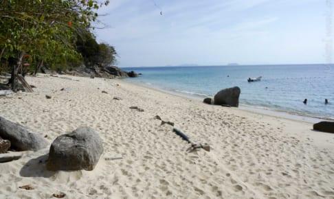 Perhentian Kecil 島のハイキング