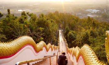Wat Phra That Doi Kham วัดพระธาตุดอยคำ in Chiang Mai