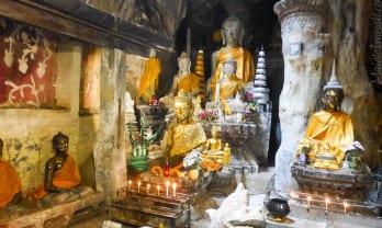 Wat Tham Chiang Dao วัดถ้ำเชียงดาว 洞窟寺