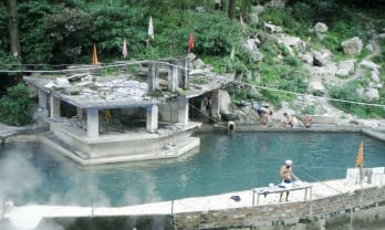 Manikaran Hot Springs マニカランの温泉 ヒンド