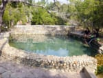 Salty Saline Hot Spring A in Khlong Thom