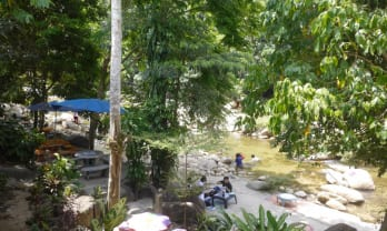 Kiriwong は川遊び