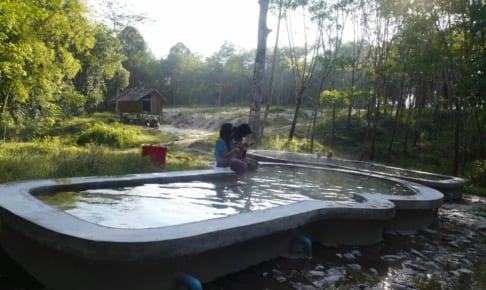 サンピーノン=三兄妹温泉: Good 朝風呂 บ่อน้ำร้อนสามพี่น้อง