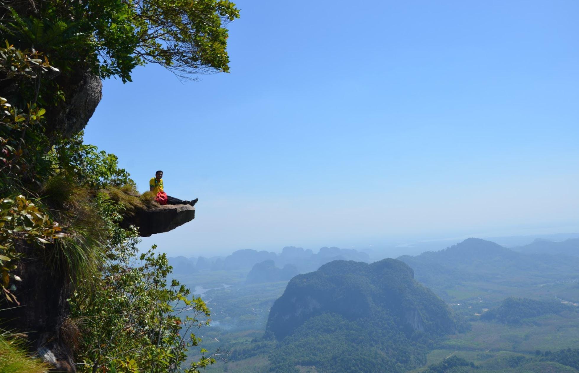 เขาหงอนนาค ウォンナ山を登る Khao Ngon Nak