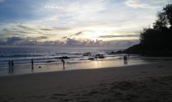 昨日の夕暮れビーチ อุทยานแห่งชาติหาดลายัน Layan Beach National Park