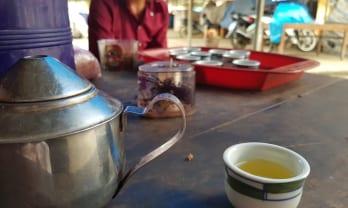 お茶と煙草 in Bac Ha