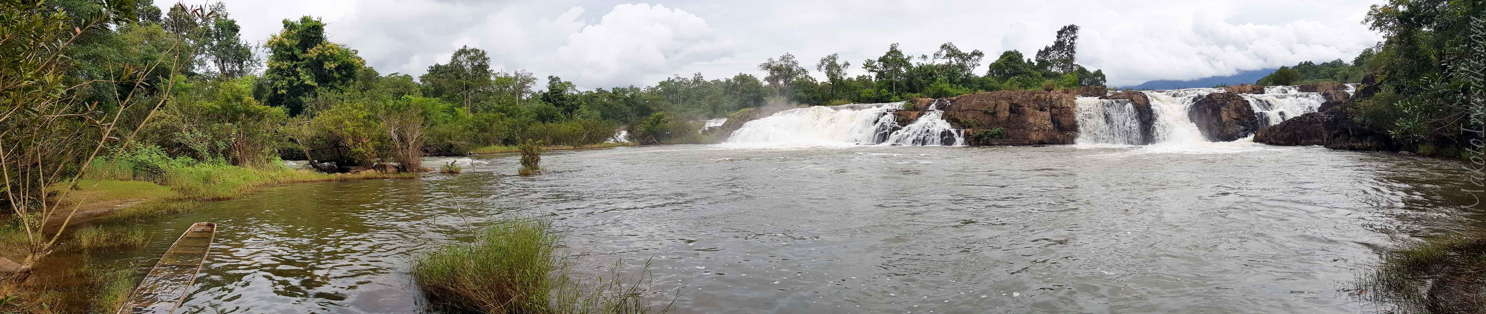 Sekong セコンと Tad Faed 滝
