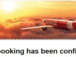 Krungsri 銀行 のVISA カードでエアアジアの航空券が買えた