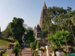 マハボディ寺院、佛陀の悟処