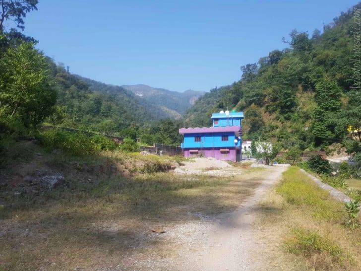 リシケシの宿は Dhamanda Guest House