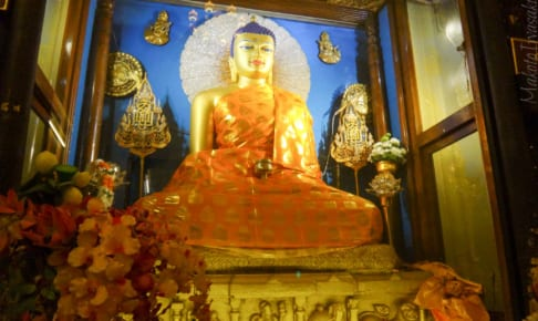 大菩提寺をカメラと再訪