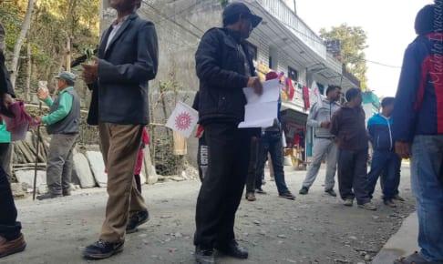ネパールの選挙の投票日はあさって日曜日11月26日