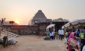 Surya Mandir 太陽寺院の夕暮れ