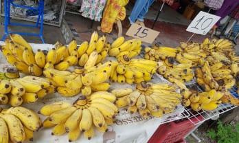 タイのバナナกล้วยは美味い!
