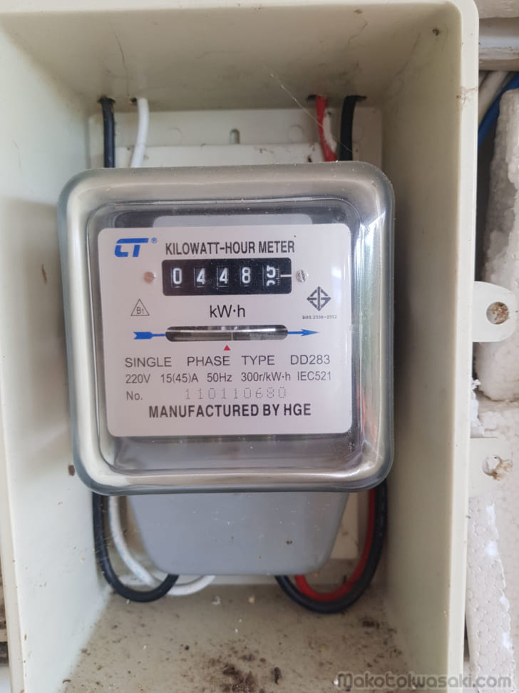 電気代の上乗せ過剰請求が禁止になったタイの賃貸住宅