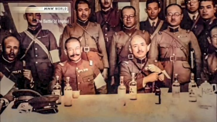 牟田口廉也と河辺正和ビルマ軍司令官