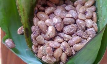 タイのローカル納豆は粘りけがない