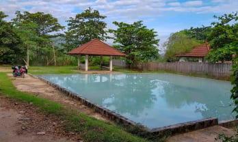 朝のパボン温泉共同湯は最高