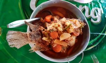 魚料理のメニュ・プラー :メーチャン