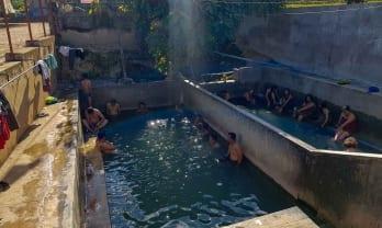 チャウメの温泉とナムアウン温泉