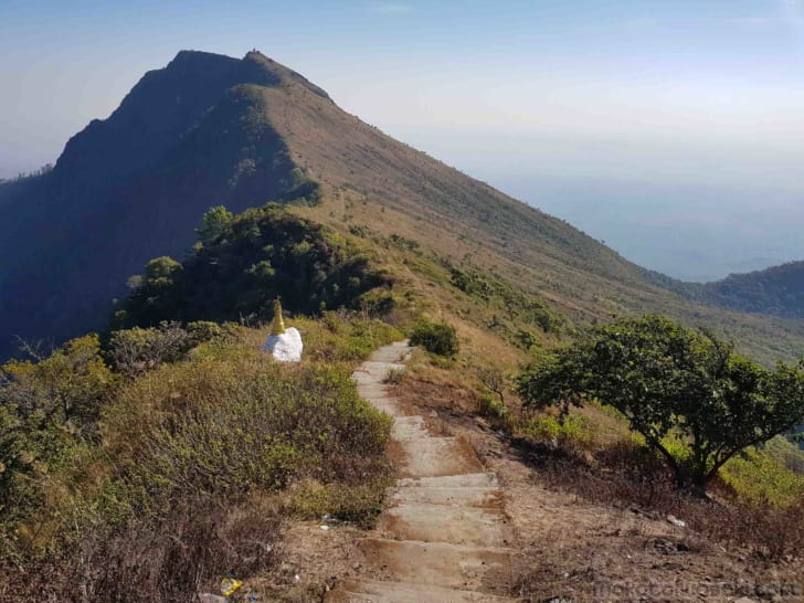 大ポッパ山に登る、7時間ハイキング