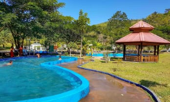 ネピドウ温泉、ピンラン温泉は朝風呂最高