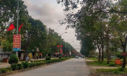 國旗密度世界一のベトナム